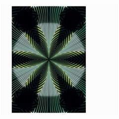 Lines Abstract Background Small Garden Flag (two Sides)