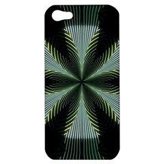 Lines Abstract Background Apple Iphone 5 Hardshell Case