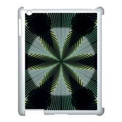Lines Abstract Background Apple Ipad 3/4 Case (white)