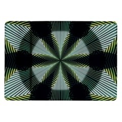 Lines Abstract Background Samsung Galaxy Tab 10.1  P7500 Flip Case