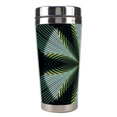 Lines Abstract Background Stainless Steel Travel Tumblers