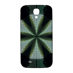 Lines Abstract Background Samsung Galaxy S4 I9500/I9505  Hardshell Back Case