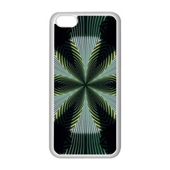 Lines Abstract Background Apple Iphone 5c Seamless Case (white)