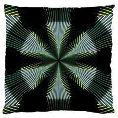 Lines Abstract Background Large Flano Cushion Case (Two Sides)