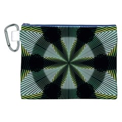 Lines Abstract Background Canvas Cosmetic Bag (XXL)