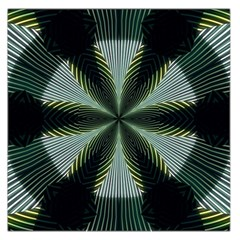 Lines Abstract Background Large Satin Scarf (square)