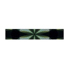 Lines Abstract Background Flano Scarf (Mini)