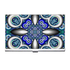 Fractal Cathedral Pattern Mosaic Business Card Holders