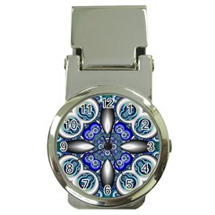 Fractal Cathedral Pattern Mosaic Money Clip Watches