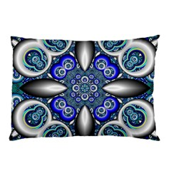Fractal Cathedral Pattern Mosaic Pillow Case