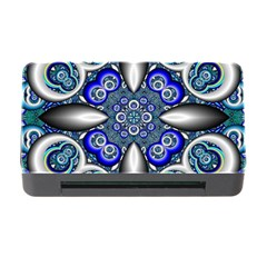 Fractal Cathedral Pattern Mosaic Memory Card Reader with CF