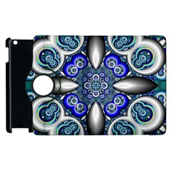 Fractal Cathedral Pattern Mosaic Apple iPad 3/4 Flip 360 Case