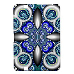 Fractal Cathedral Pattern Mosaic Kindle Fire Hd 8 9