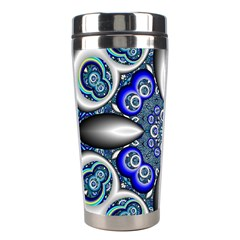 Fractal Cathedral Pattern Mosaic Stainless Steel Travel Tumblers