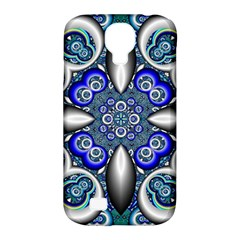 Fractal Cathedral Pattern Mosaic Samsung Galaxy S4 Classic Hardshell Case (pc+silicone)