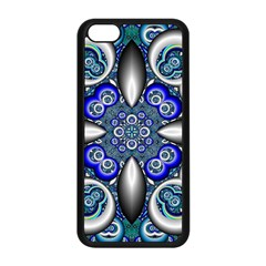 Fractal Cathedral Pattern Mosaic Apple Iphone 5c Seamless Case (black)