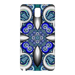Fractal Cathedral Pattern Mosaic Samsung Galaxy Note 3 N9005 Hardshell Back Case