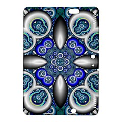 Fractal Cathedral Pattern Mosaic Kindle Fire HDX 8.9  Hardshell Case