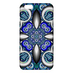 Fractal Cathedral Pattern Mosaic Iphone 6 Plus/6s Plus Tpu Case