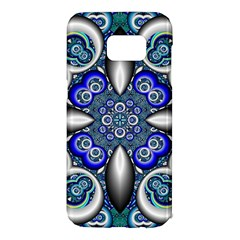 Fractal Cathedral Pattern Mosaic Samsung Galaxy S7 Edge Hardshell Case