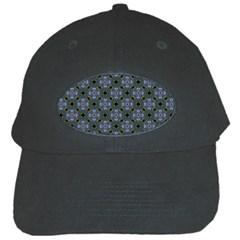 Space Wallpaper Pattern Spaceship Black Cap