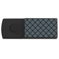 Space Wallpaper Pattern Spaceship USB Flash Drive Rectangular (1 GB)