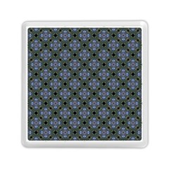 Space Wallpaper Pattern Spaceship Memory Card Reader (Square)