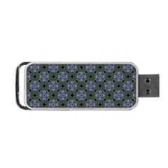 Space Wallpaper Pattern Spaceship Portable USB Flash (Two Sides)