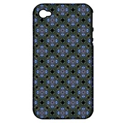 Space Wallpaper Pattern Spaceship Apple iPhone 4/4S Hardshell Case (PC+Silicone)