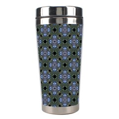 Space Wallpaper Pattern Spaceship Stainless Steel Travel Tumblers