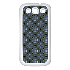 Space Wallpaper Pattern Spaceship Samsung Galaxy S3 Back Case (white)