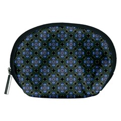 Space Wallpaper Pattern Spaceship Accessory Pouches (Medium)