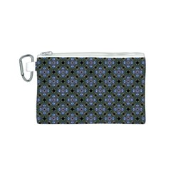 Space Wallpaper Pattern Spaceship Canvas Cosmetic Bag (s)