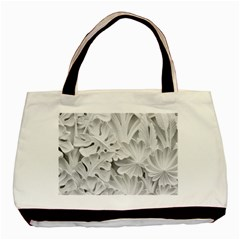 Pattern Motif Decor Basic Tote Bag (Two Sides)