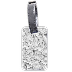 Pattern Motif Decor Luggage Tags (One Side)