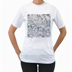 Pattern Motif Decor Women s T Shirt (white)