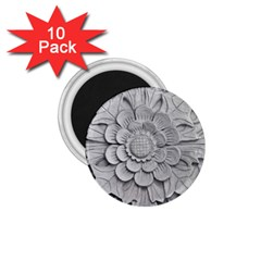 Pattern Motif Decor 1 75  Magnets (10 Pack)