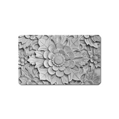 Pattern Motif Decor Magnet (name Card)