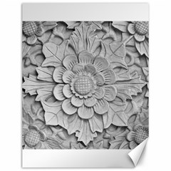 Pattern Motif Decor Canvas 12  X 16