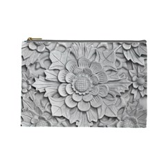 Pattern Motif Decor Cosmetic Bag (large)
