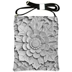 Pattern Motif Decor Shoulder Sling Bags