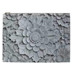 Pattern Motif Decor Cosmetic Bag (xxl)