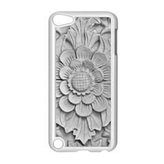 Pattern Motif Decor Apple iPod Touch 5 Case (White)