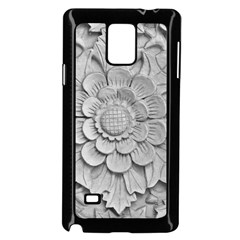 Pattern Motif Decor Samsung Galaxy Note 4 Case (Black)