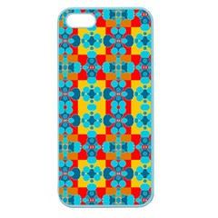 Pop Art Abstract Design Pattern Apple Seamless iPhone 5 Case (Color)