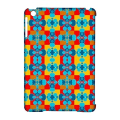 Pop Art Abstract Design Pattern Apple Ipad Mini Hardshell Case (compatible With Smart Cover)