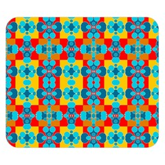 Pop Art Abstract Design Pattern Double Sided Flano Blanket (Small)