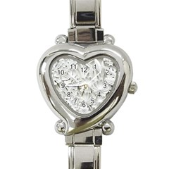 Pattern Motif Decor Heart Italian Charm Watch