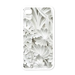 Pattern Motif Decor Apple Iphone 4 Case (white)