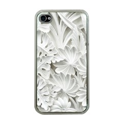 Pattern Motif Decor Apple iPhone 4 Case (Clear)